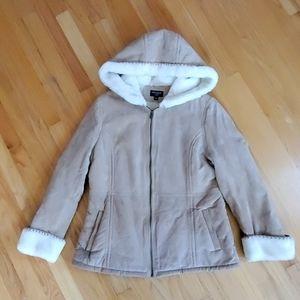 Sonoma suede coat